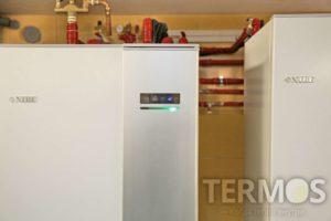 Інверторний тепловий насос NIBE F1155, 16 кВт